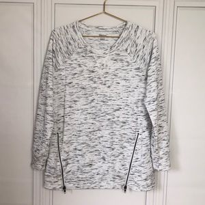 Motherhood Maternity Heather Grey Sweater